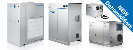 New range of commercial dehumidifiers